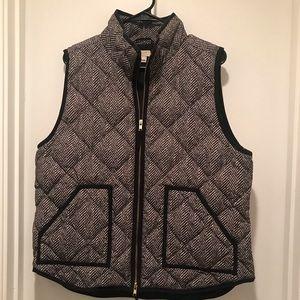 J. Crew Herringbone Vest size XL